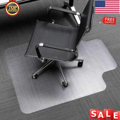 48 X 30 Translucent Office Chair Mat Carpet Protector For Home
