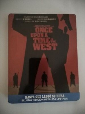 Hasta Que Llegó Su Hora -Once Upon A Time In The West-Steelbook-- Blu Ray-Nuevo