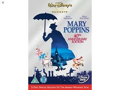 Mary Poppins 40th Anniversary Edition DVD (2 Discs)