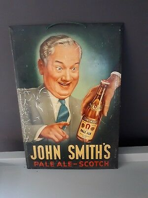 Ancienne Tole Emaillee John Smith's Pale Ale-Scotch (2019/081)