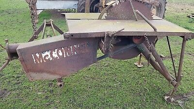 Saw Bench Tractor Mounted 3pt Linkage With PTO