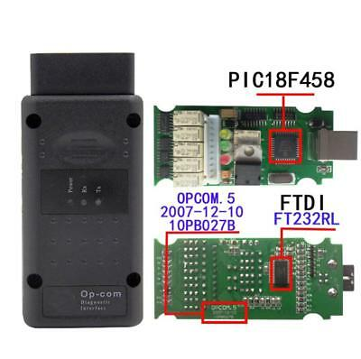 For Opel Cars Fault With PIC18F458 Chip OPCOM 2012V Diagnostic Scanner Tool