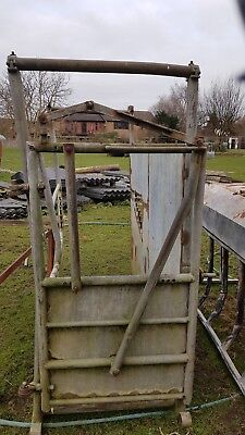 Cattle Crush Metal Used Condition