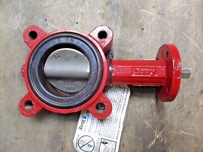 "Bray 3"" Iron Butterfly Valve, Series 31 (Without Handle) #1111022J New"