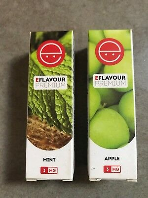 eFlavour Premium - Mint & Apple  - 3MG