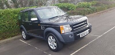 7 Seater Land Rover Discovery 3 Hse 2.7L Diesel Tdv6 2006 With Panoramic Roof