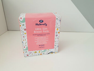 Boots Maternity Ultra Slim Breast Pads Maternity 36 individually wrapped