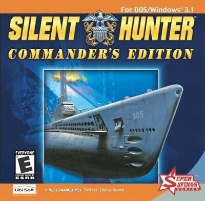SILENT HUNTER & 3 PATROL PACKS +1Clk Windows 10 8 7 Vista XP Install