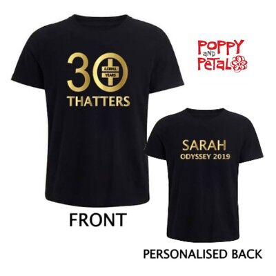 Thatters Take That T-shirt, Personalised Take That Merchandise, Unofficial
