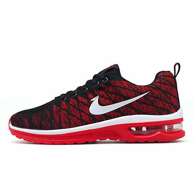 new concept 80b08 df26a Mens Air Cushion Fashion Sports Sneakers Casual Shoes Breathable Jogging  Walking