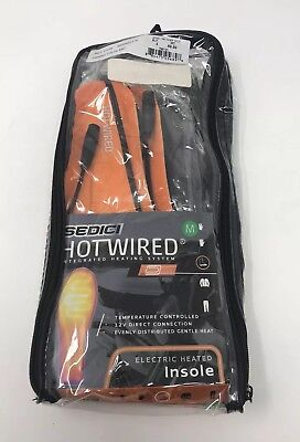 SEDICI HOTWIRED Insole Motorcycle Electric Heated System Medium