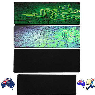 Large Size Gaming Mouse Pad Desk Mat Extended Anti-slip Rubber Speed Mousepad OZ