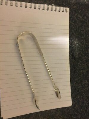 SUGAR TONGS VICTORIAN STERLING SILVER DATED 1845 ,LONDON , 50.6g