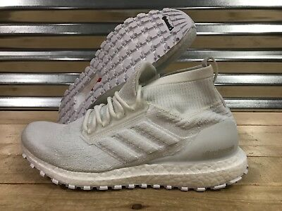 97721e4e8a330 Adidas UltraBoost All Terrain ATR Mid Running Shoes Triple White SZ ( BB6131  )