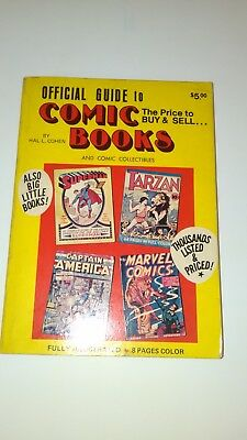 Official Guide to Comic Books by Hal L. Cohen, 1974