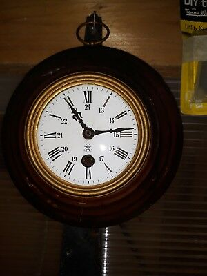 Old  French Wall Clock