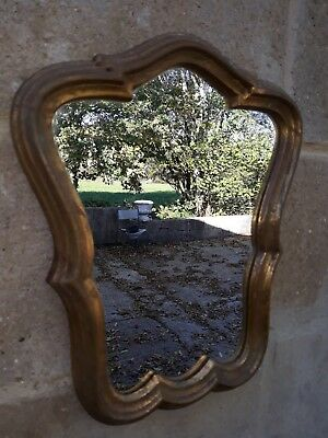 Small French Mirror, Lovely Shape.
