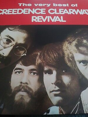 """the Very Best Of Creedence Clearwater Revival"" -  Cool K-Tel Italian Import Lp!"