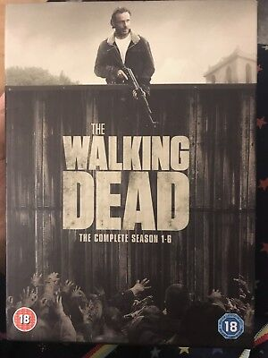 The Walking Dead DVD Box Set Season 1-6