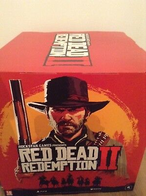 Red dead redemption 2 official promo large display cube , ps4 /Xbox one
