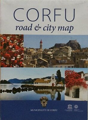 CORFU Road & City Map - Free UK Map