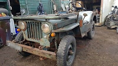 willys jeep 1940s barn find