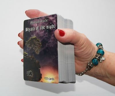 Mystical Oracle Breath of The Night Fortune Telling Oracle Cards Deck Berenika