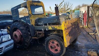 Fordson major tractor 1950s interesting london LOCO history