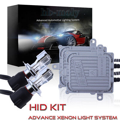 AC 75W Quick Start H7 Metal based Xenon HID Headlights Kit For Skoda Fabia VRS