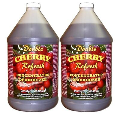 Double Cherry Refresh - Concentrated economical deodorant - 2 gallon case