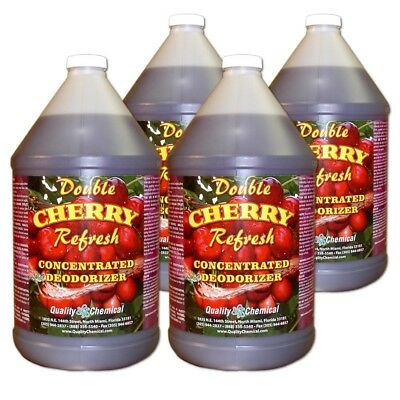Double Cherry Refresh - Concentrated economical deodorant - 4 gallon case