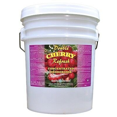 Double Cherry Refresh - Concentrated economical deodorant - 5 gallon pail