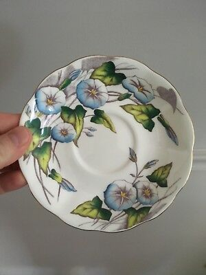 Royal Albert England Bone China Replacement Saucer Morning Glory Month # 9