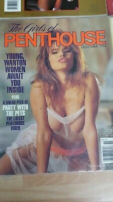 Penthouse US Heft The Girls of PH 11 / 1994