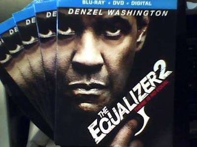 The Equalizer 2 (Blu-Ray Only) Opened-Unwatched