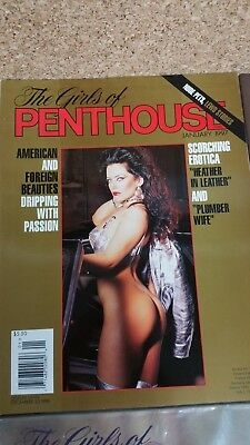 Penthouse US Heft The Girls of PH 01 / 1997