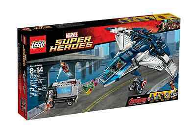 LEGO® Marvel Super Heroes 76032 The Avengers Quinjet City Chase NEU OVP NEW MISB