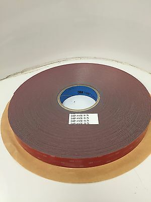 "3M™ VHB™ Commercial Vehicle Tape 108' Roll 1"" wide"