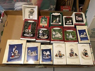 Hallmark Ornaments,  Frosty And Friends, Including 1980
