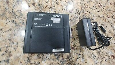 Micros DT-166 Controller with Power Supply: PN: 700876-210