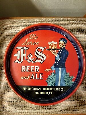 1940's F&S Beer Tray - CLEAN.
