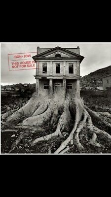 Bon Jovi This House Is Not For Sale CD New & Sealed