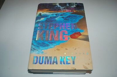 Stephen King Duma Key True Us 1St Edition First Print Book Horror Hardback