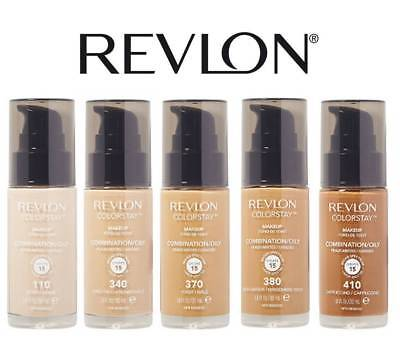 Revlon Pump Foundation Color Stay Combination / Oily Skin - Choose Your Shade