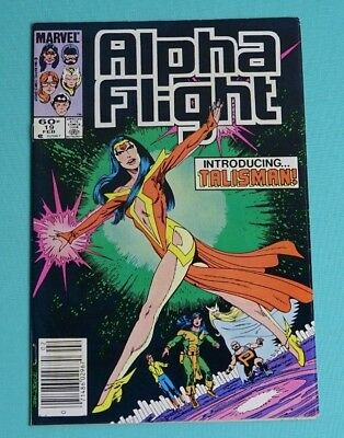 Alpha Flight 19 (Marvel, Feb. 1985)