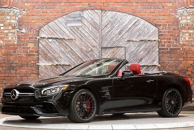 2017 Mercedes-Benz SL-Class AMG SL63 Roadster 17 577 hp Twin Turbo 5.5L V8 Convertible Pano Roof Forged Wheels Night Styling