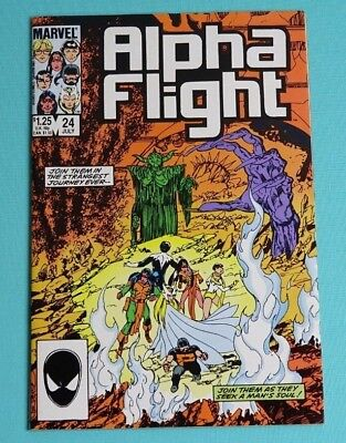 Alpha Flight 24 (Marvel, Jul. 1985)