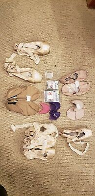 Lot,Pointe Ballet/Jazz/Lyrical, silicone toe spacers and pointe toe pads
