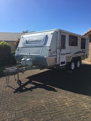 Jayco - Freedom - Off-Road Outback.  With Tinnie, 15 HP, Trailer,(Price Reduced)