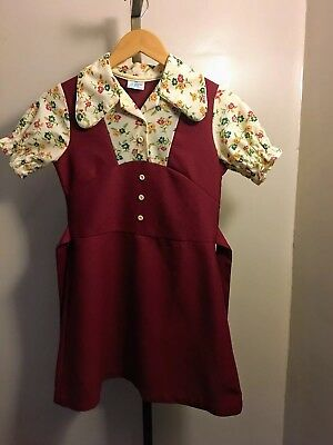 Youth Vintage Dress, Size 14, Growing Girl-1960's
